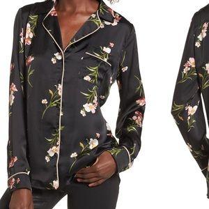 Socialite Pajama inspired top